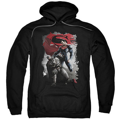Batman v Superman Choke Black Pullover Hoodie