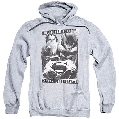 Batman v Superman Guardian Son Gray Pullover Hoodie