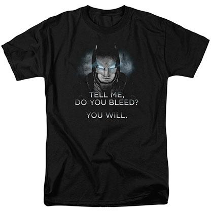 Batman v Superman Dawn Black T-Shirt