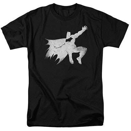 Batman v Superman Silhouette Black T-Shirt