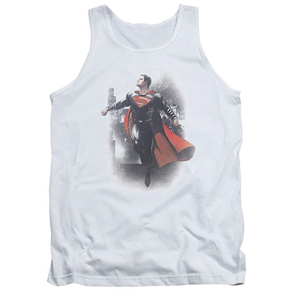 Batman v Superman New Dawn White Tank Top