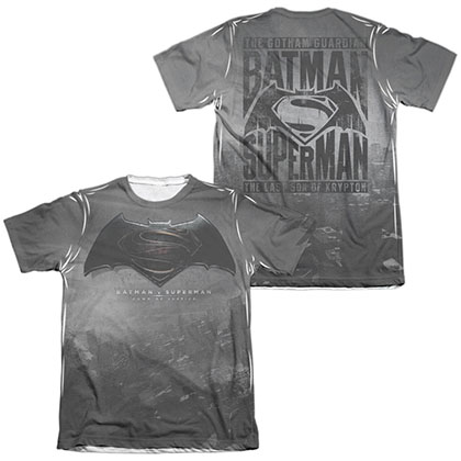 Batman v Superman Logo Sublimation T-Shirt