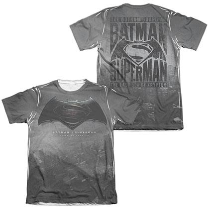Batman v Superman Logo Sublimation T-Shirt