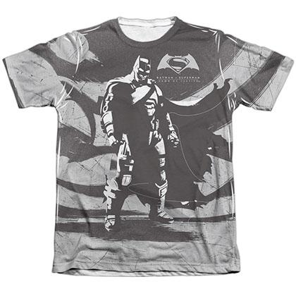 Batman v Superman Contrast Sublimation T-Shirt