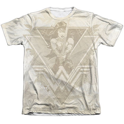Batman v Superman Wonder Woman Greek Goddess Sublimation T-Shirt