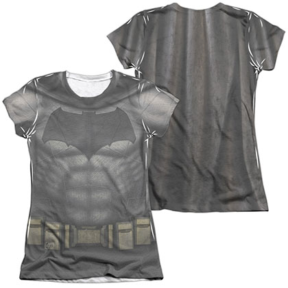 Batman v Superman Bat Uniform Costume Sublimation Juniors T-Shirt