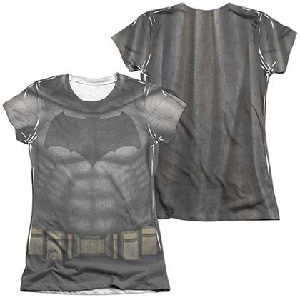 Batman v Superman Bat Uniform Costume Sublimation Juniors T-Shirt
