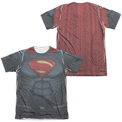 Batman v Superman Super Costume Sublimation T-Shirt