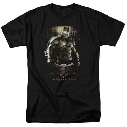 Batman v Superman Bat Ground Zero Black T-Shirt