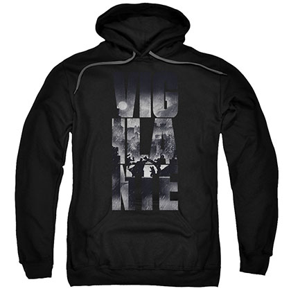 Batman v Superman Vigilante Black Pullover Hoodie