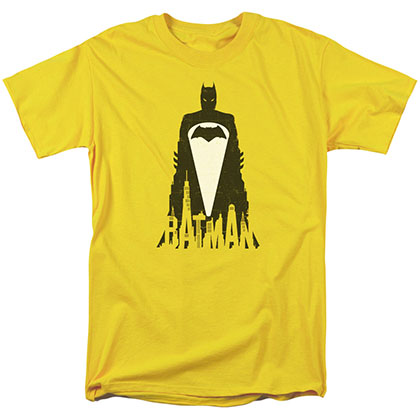 Batman v Superman Bat Justice Yellow T-Shirt