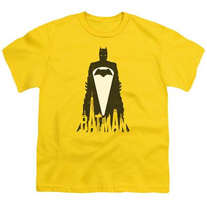 Batman v Superman Bat Justice Yellow Youth Unisex T-Shirt
