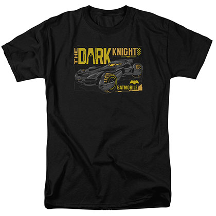 Batman v Superman Batmobile Black T-Shirt