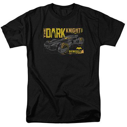 Batman v Superman Batmobile Black T-Shirt