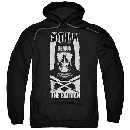 Batman v Superman Demon Bat Black Pullover Hoodie