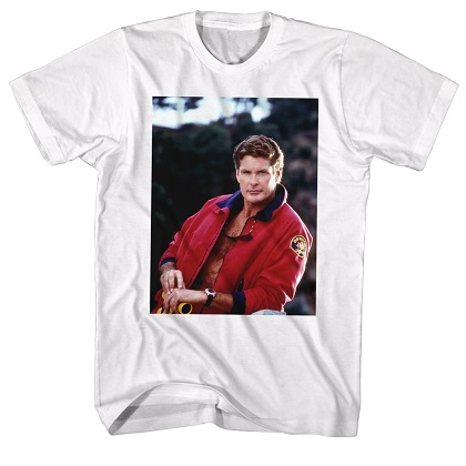 Baywatch David Hasselhoff Tshirt
