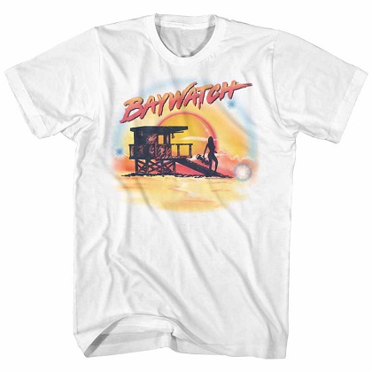 Baywatch Airbrushed Tshirt