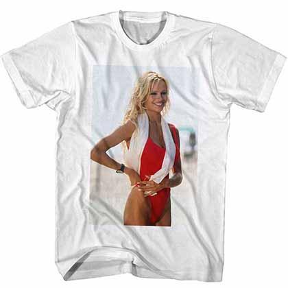 Baywatch Always Bring A Towel Mens White T-Shirt