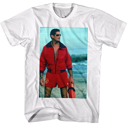 Baywatch King of the Beach Tshirt