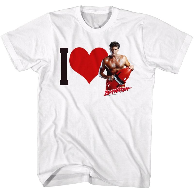 Baywatch I Heart Hasselhoff Tshirt