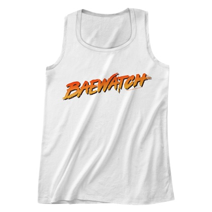 Baywatch Baewatch Tank Top