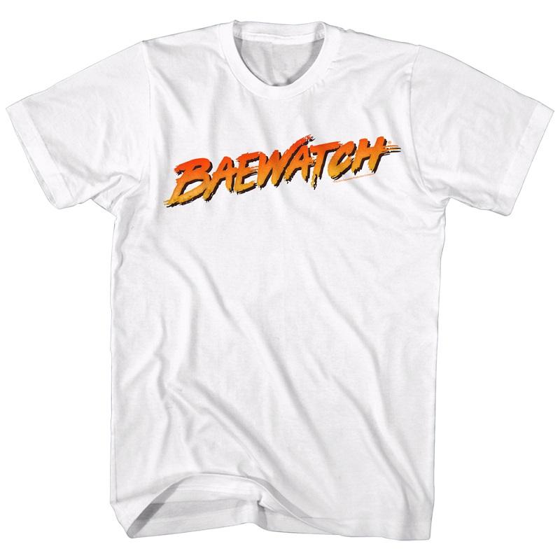 Baywatch Baewatch White Tshirt