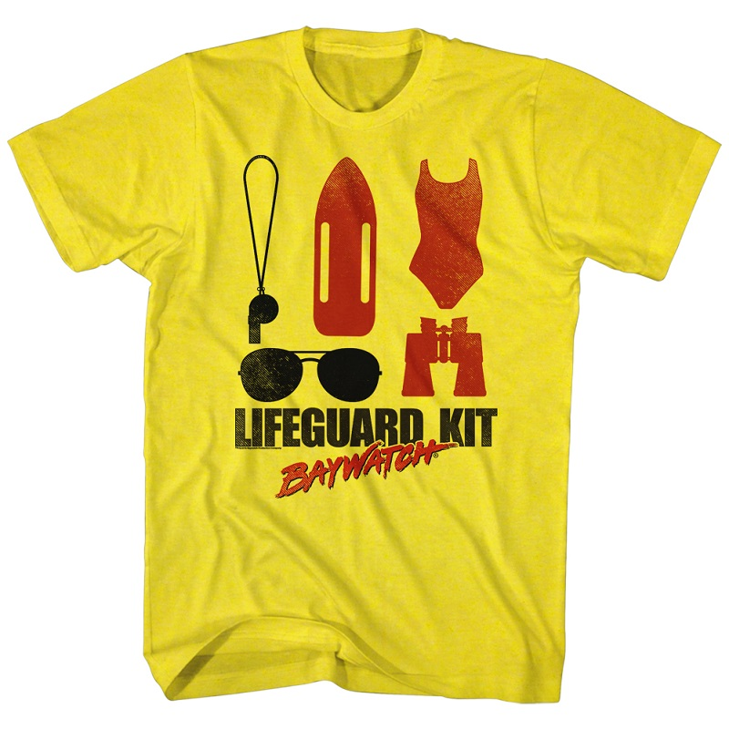 baywatch lifeguard kit tshirt tvmoviedepot com