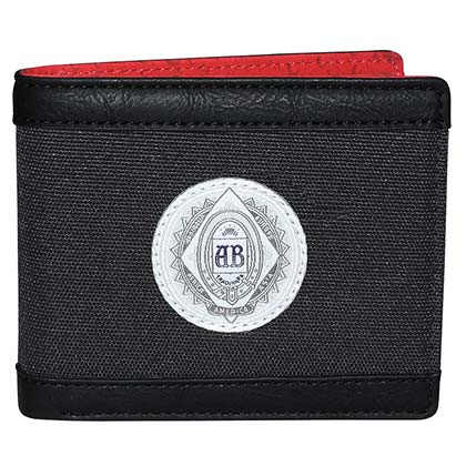 Budweiser Black This Buds For You Bi Fold Wallet