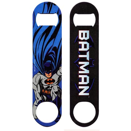 Batman Sublimation Coated Bar Blade Bottle Opener