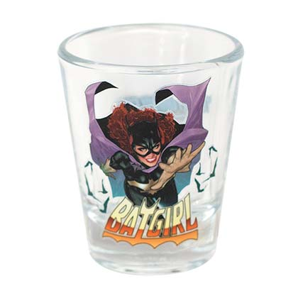 Batgirl Shot Glass