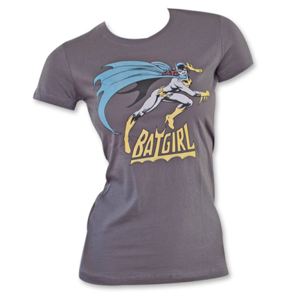 Batgirl Women's Shirt Grey