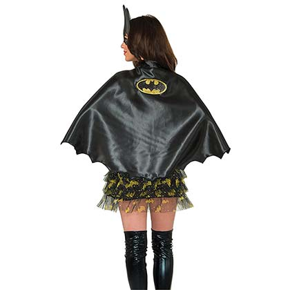 Batgirl Black Women's Cape