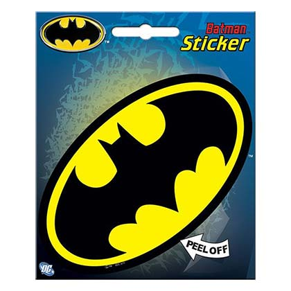 Batman Superhero Logo Sticker