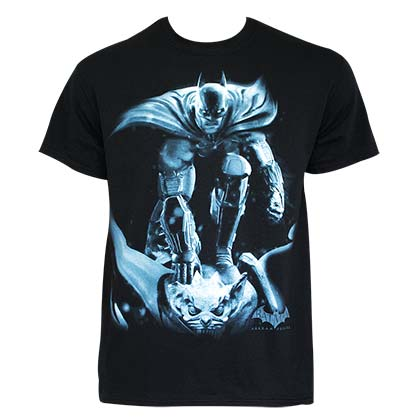 Batman Men's Black Gargoyle T-Shirt