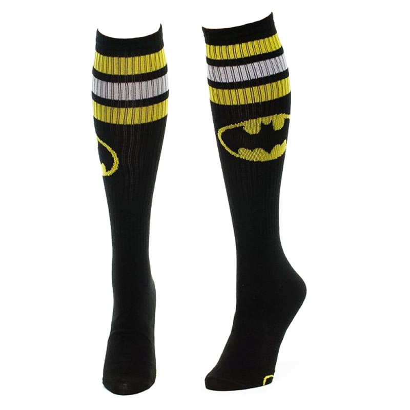 072826c89e8 item was added to your cart. Item. Price. Batman Black And Yellow Women s Knee  High Socks