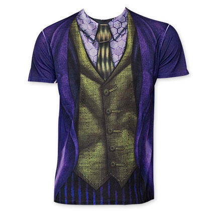 Joker Purple Jacket Sublimated Costume T-Shirt