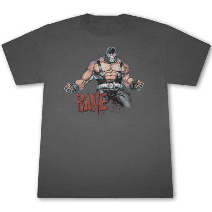 Bane Flex T Shirt - Gray