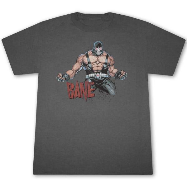 Bane Flex T Shirt - Gray