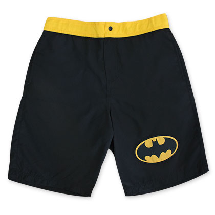 Batman Black Bat Logo Board Shorts