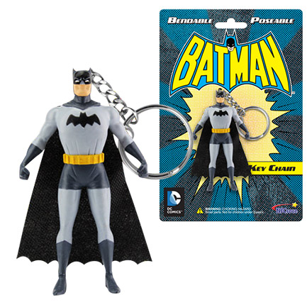 Batman 3-Inch Poseable Keychain Figurine
