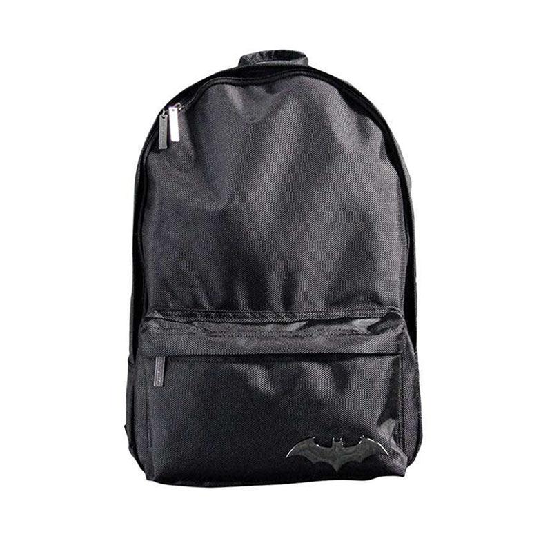 Batman Emblem Black Backpack