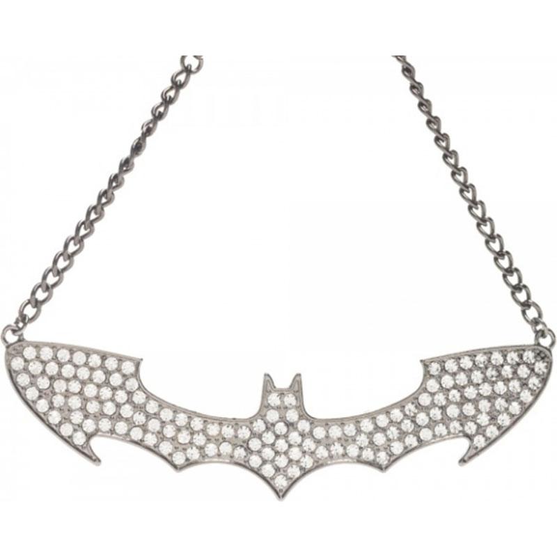 Batman Women's Rhinestone Choker Necklace