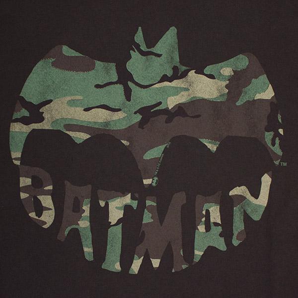 Batman Junk Food Brand Camo Logo Tee
