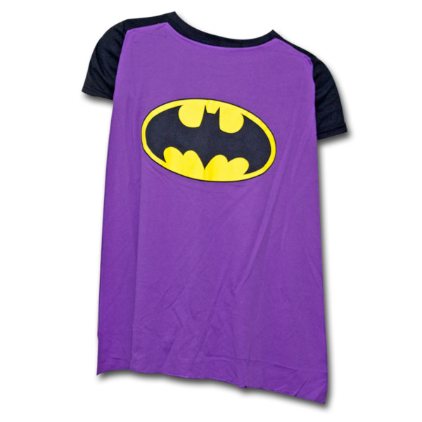 These are adorable babydoll women's t-shirts that will make you proud to wear such an attractive superhero themed shirt. Batman, Superman, Star Wars and more.