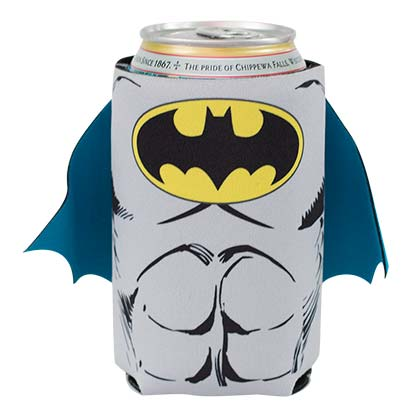 DC Batman Comic Caped Koozie