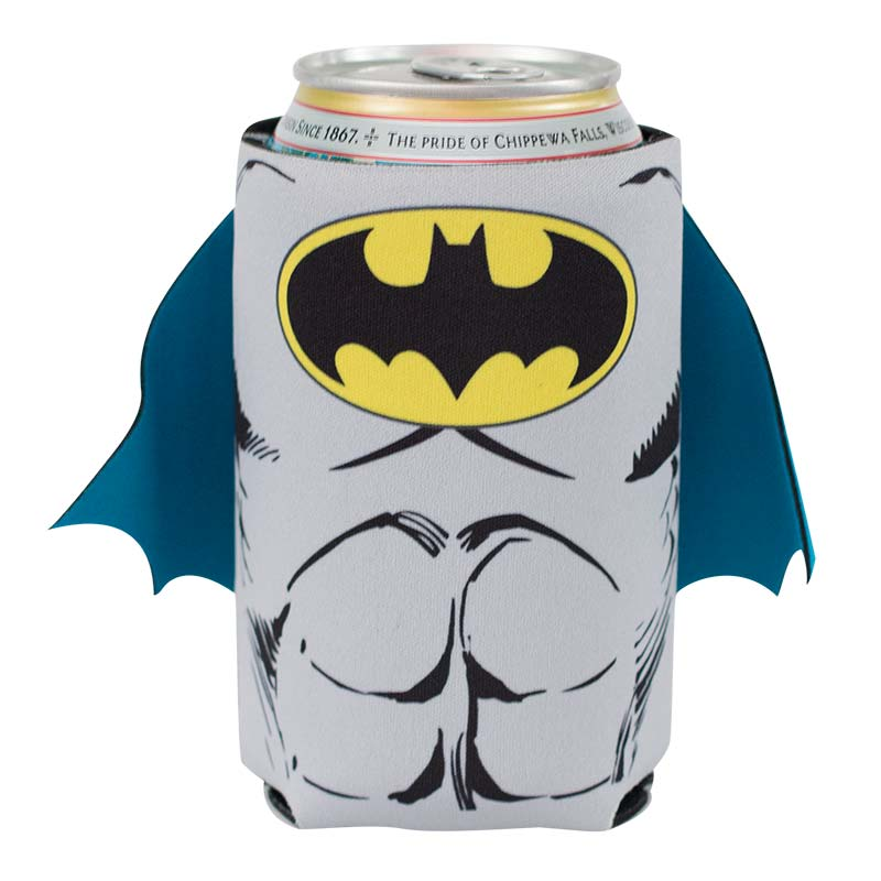 DC Batman Comic Caped Can Cooler