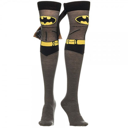Batman Women's Over The Knee High Cape Socks