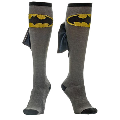 Batman Gray Cape Socks