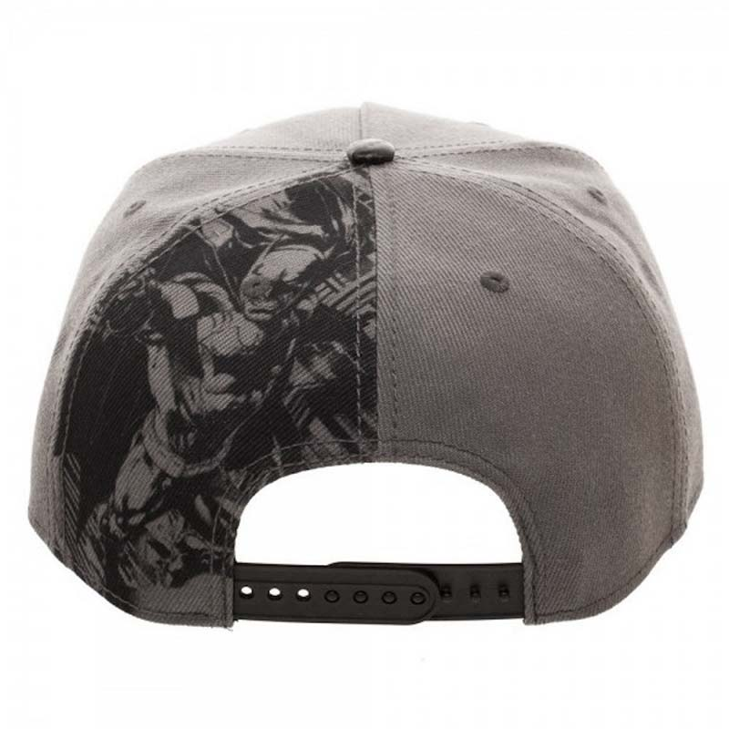Batman Grey Carbon Fiber Snapback Hat  608dea14b1e