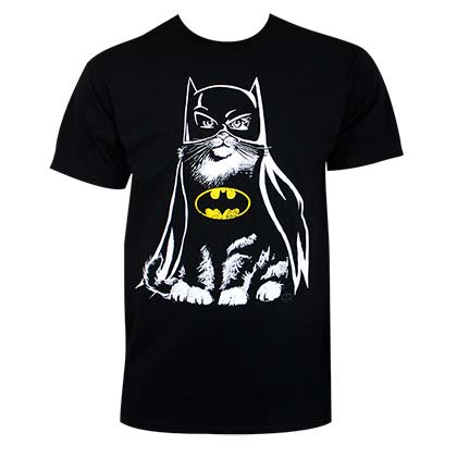 Batman Cat Tee Shirt